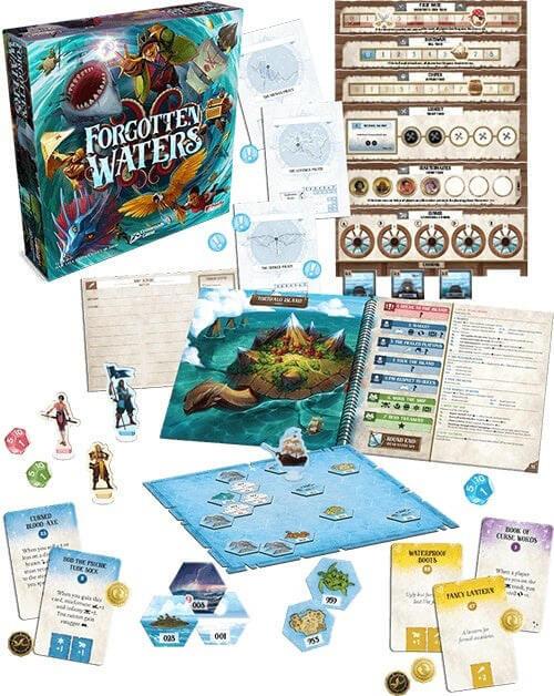 Forgotten Waters Overview | BoardgameShop