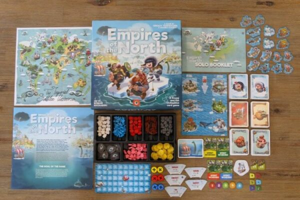 Imperial Settlers Empires of the North Overview   BoardgameShop