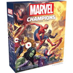 Marvel Champions the card game - cover