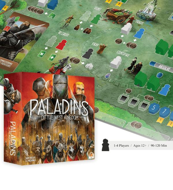 Paladins of the West Kingdom Global | BoardgameShop