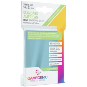 Gamegenic: Prime Board Game Sleeves - Green
