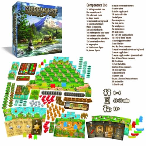 Sierra West Overview   BoardgameShop