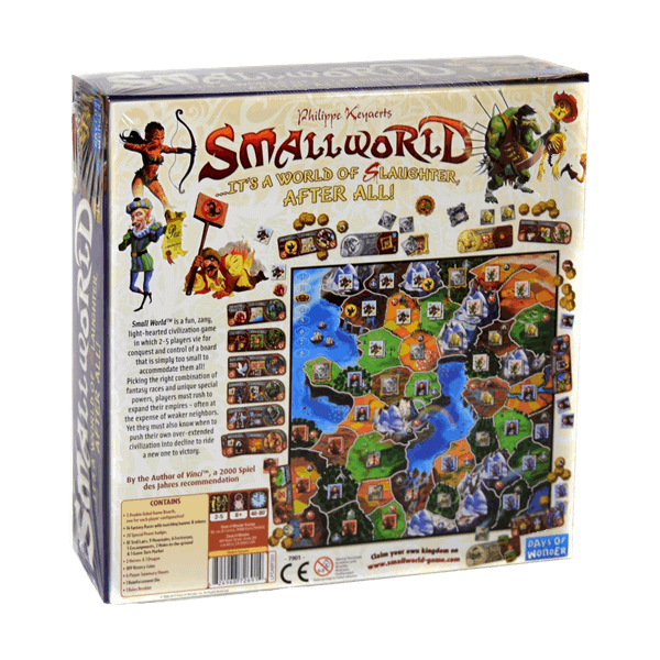 Small World Backside | BoardgameShop