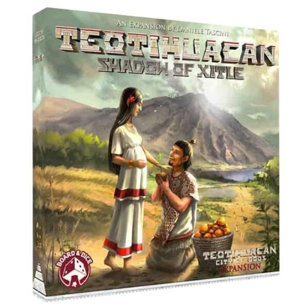 Teotihuacan Shadow of Xitle | BoardgameShop
