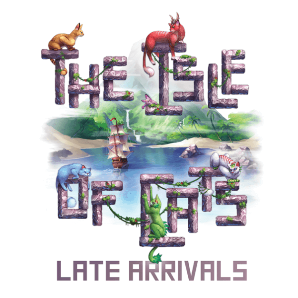 the isle of cats late arrivals - cover