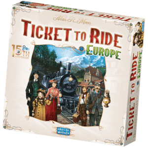 Ticket to Ride Europe 15th Anniversary - Cover