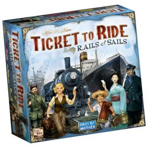 Ticket to Ride Rails Sails | BoardgameShop