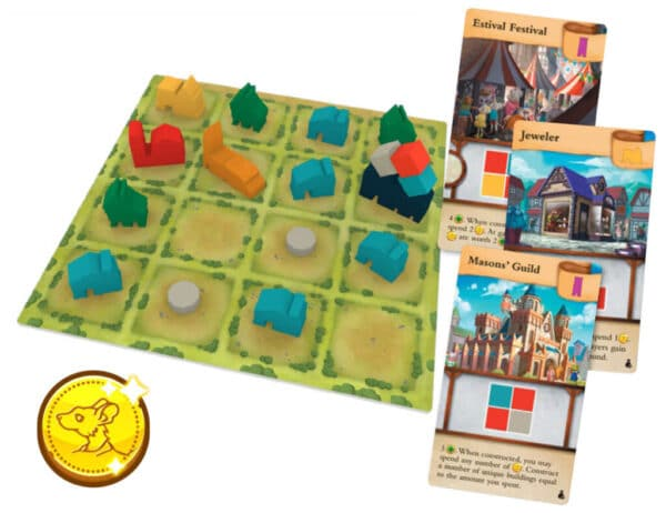 Tiny Towns Fortune Overview   BoardgameShop
