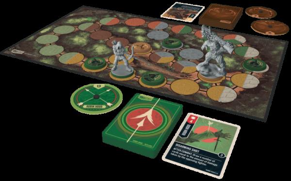 Unmatched Robin Hood vs Bigfoot Overview   BoardgameShop