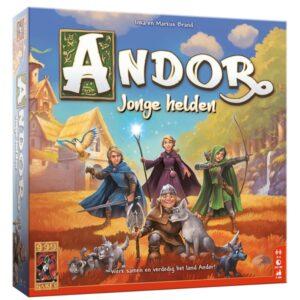 De Legenden van Andor Jonge Helden - Cover