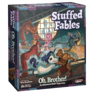 Stuffed Fables Oh Brother - Cover
