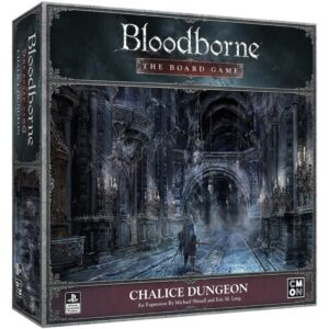 bloodborne the board game chalice dungeon - cover