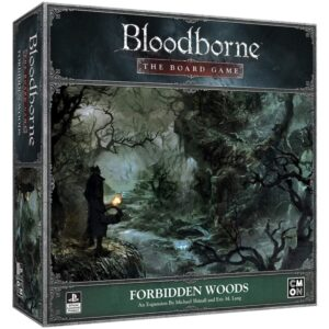 Bloodborne the board game forbidden woods - cover