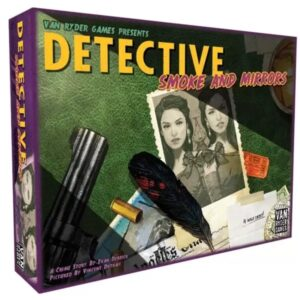 Detective Smoke and Mirrors - Cover