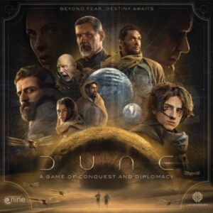 dune a game of conquest and diplomacy - cover