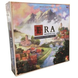 era medieval age river and roads - cover