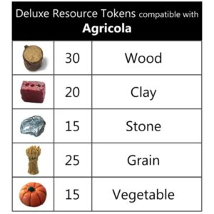 Agricola Deluxe Tokens
