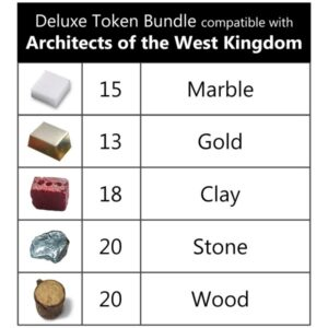 Architects of the West Kingdom Deluxe Tokens