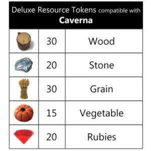 Caverna Deluxe Tokens