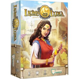 Lions of Lydia - Cover