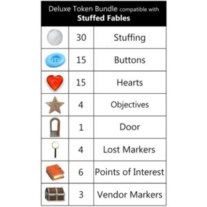 Stuffed Fables Deluxe Tokens
