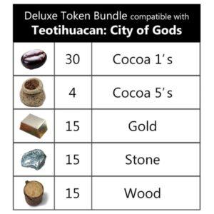 Teotihuacan Deluxe Tokens
