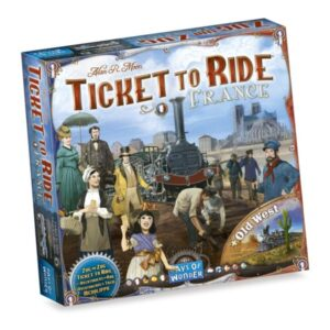 Ticket to Ride France and Old West